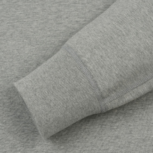 Мужская толстовка Reigning Champ Crew Neck Midweight Twill Terry Heather Grey фото- 1
