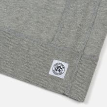 Мужская толстовка Reigning Champ Crew Neck Midweight Twill Terry Heather Grey фото- 2