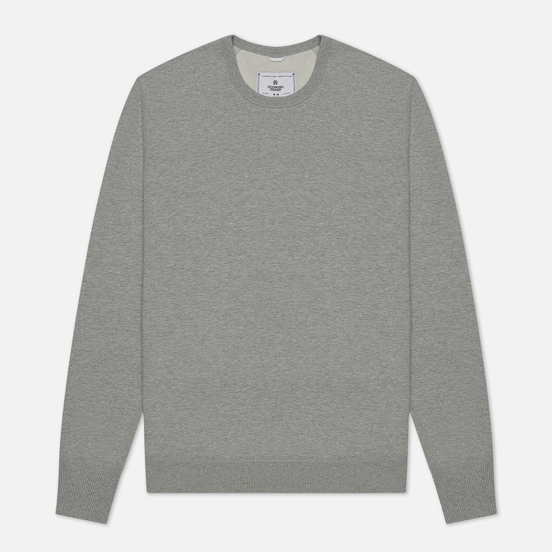 Мужская толстовка Reigning Champ Crew Neck Midweight Twill Terry Heather Grey