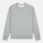 Мужская толстовка Reigning Champ Crew Neck Midweight Twill Terry Heather Grey фото- 0
