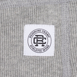 Мужская толстовка Reigning Champ Gym Logo Crew Neck Heather Grey фото- 3
