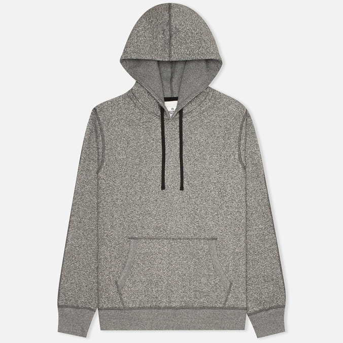 Мужская толстовка Reigning Champ Heavyweight Side Zip Engineered Charcoal
