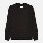 Мужская толстовка Reigning Champ Heavyweight Terry Crewneck Black фото- 0