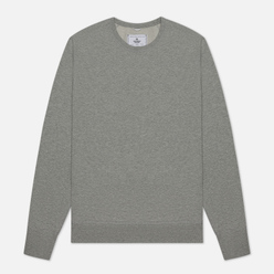 Мужская толстовка Reigning Champ Knit Lightweight Terry Crew Neck Heather Grey