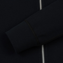 Мужская толстовка Reigning Champ Midweight Terry Full Zip Black фото- 2