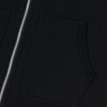 Мужская толстовка Reigning Champ Midweight Terry Full Zip Black фото- 4