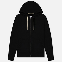 Мужская толстовка Reigning Champ Midweight Terry Full Zip Black