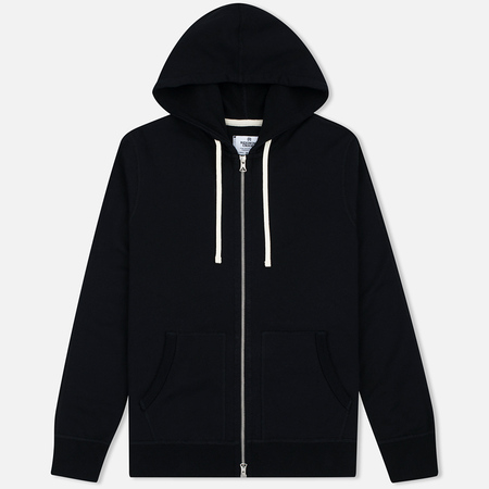 Reigning Champ Midweight Terry Full Zip Men's Hoody Black