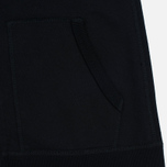 Мужская толстовка Reigning Champ Midweight Terry Full Zip Black фото- 5