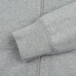 Мужская толстовка Reigning Champ Midweight Terry Full Zip Heather Grey фото- 3