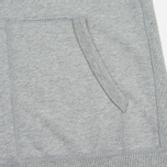 Мужская толстовка Reigning Champ Midweight Terry Full Zip Heather Grey фото- 5