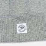 Мужская толстовка Reigning Champ Midweight Terry Full Zip Heather Grey фото- 4