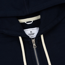 Мужская толстовка Reigning Champ Midweight Terry Full Zip Navy фото- 1
