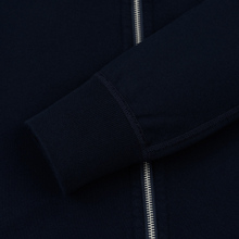 Мужская толстовка Reigning Champ Midweight Terry Full Zip Navy фото- 4