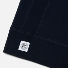 Мужская толстовка Reigning Champ Midweight Terry Full Zip Navy фото- 2