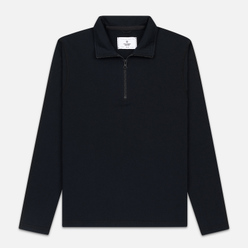 Мужская толстовка Reigning Champ Pima Lightweight Terry Half Zip Pullover Black