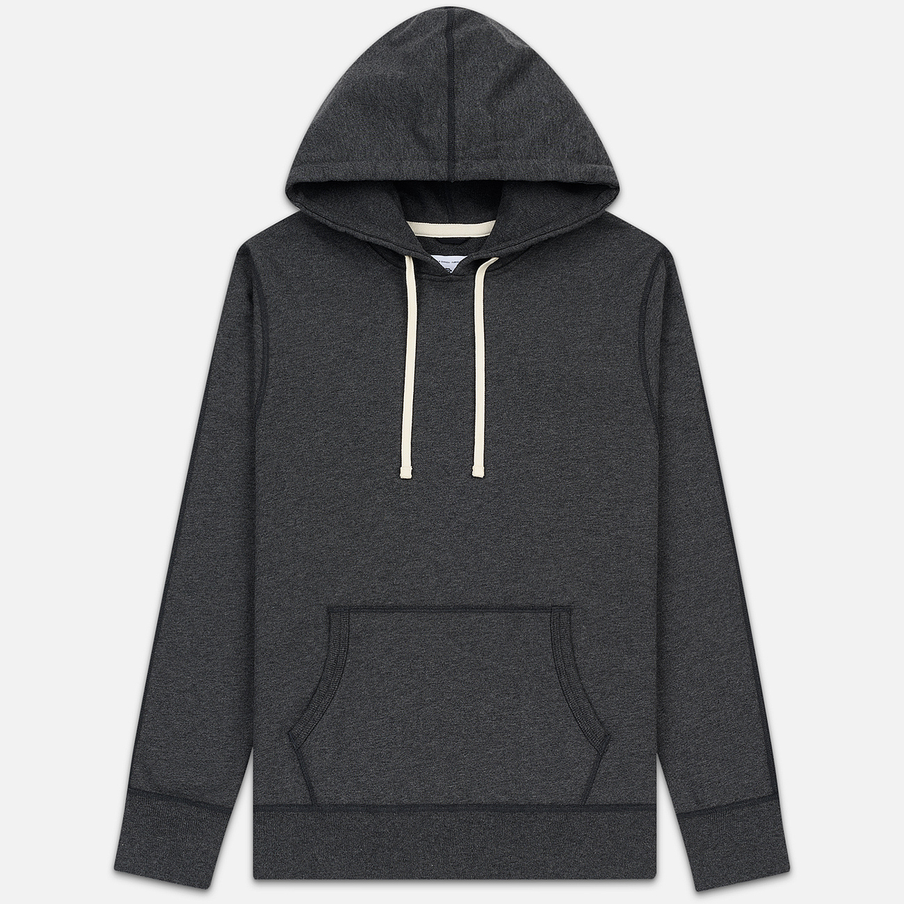 Мужская толстовка Reigning Champ Pullover Midweight Twill Terry Heather Charcoal