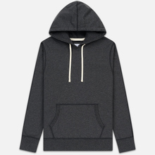 Мужская толстовка Reigning Champ Pullover Midweight Twill Terry Heather Charcoal фото- 0