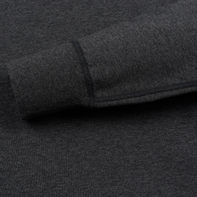 Мужская толстовка Reigning Champ Pullover Midweight Twill Terry Heather Charcoal фото- 3