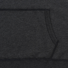 Мужская толстовка Reigning Champ Pullover Midweight Twill Terry Heather Charcoal фото- 4