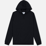 Мужская толстовка Reigning Champ Stretch Nylon Side Zip Black фото- 0