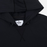 Мужская толстовка Reigning Champ Stretch Nylon Side Zip Black фото- 1