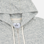 Reigning Champ Terry Lightweight Full Zip Men's Hoody Concrete photo- 1