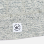 Reigning Champ Terry Lightweight Full Zip Men's Hoody Concrete photo- 4