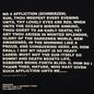 Мужская толстовка Rick Owens DRKSHDW Crew Neck Affliction Print Black/Natural фото - 2