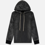 Мужская толстовка Rick Owens DRKSHDW Jumbo Hooded Black фото- 0