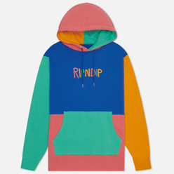 Мужская толстовка RIPNDIP Color Block Multi Panel Hoodie Multicolor