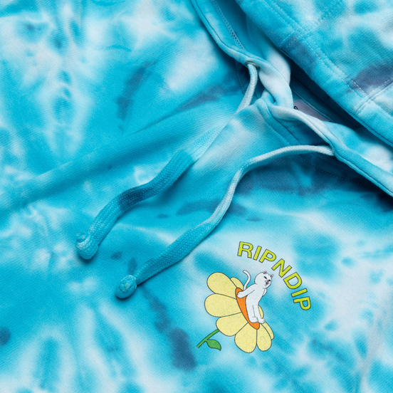Мужская толстовка RIPNDIP Day Dream Hoodie Blue Dye