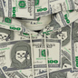 Мужская толстовка RIPNDIP Money Bag Hoodie Green фото - 1