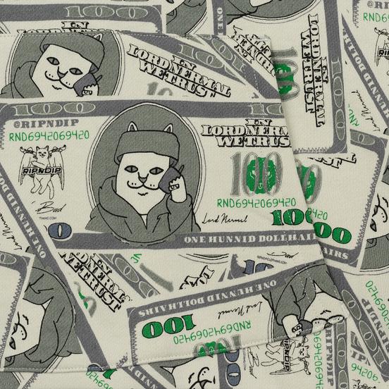 Мужская толстовка RIPNDIP Money Bag Hoodie Green