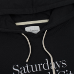 Мужская толстовка Saturdays Surf NYC Ditch Miller Standard Hooded Black фото- 1