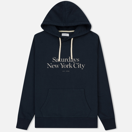 Мужская толстовка Saturdays Surf NYC Ditch Miller Standard Hoodie Midnight