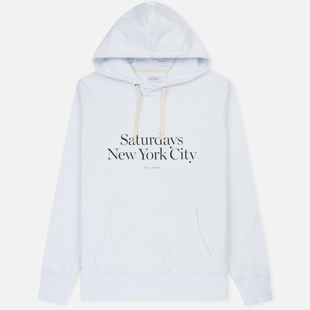 Мужская толстовка Saturdays Surf NYC Ditch Miller Standard Hoodie White