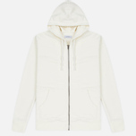 Мужская толстовка Saturdays Surf NYC JP Full Zip Ivory фото- 0