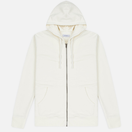 Saturdays Surf NYC JP Full Zip Men's Hoodie Ivory