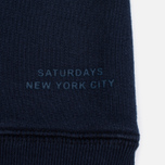 Saturdays Surf NYC Simon Men's Sweatshirt Midnight photo- 3