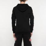 Мужская толстовка Sex skateboards x Dogtown Hoody Arm & Front Print Black фото- 6