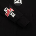 Мужская толстовка Sex skateboards x Dogtown Hoody Arm & Front Print Black фото- 3