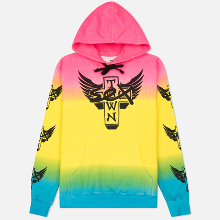 Мужская толстовка Sex skateboards x Dogtown Hoody Arm & Front Print Multicolor
