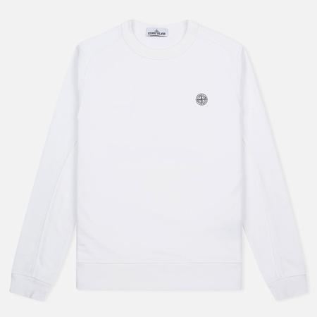 Stone Island Compass Logo Crew Neck Men's sweatshirt White