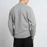 Мужская толстовка Stone Island Crew Garment Dyed Cotton Grey фото- 7