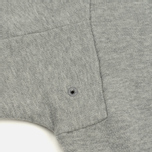Мужская толстовка Stone Island Crew Garment Dyed Cotton Grey фото- 3