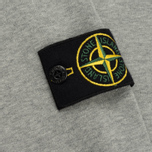 Мужская толстовка Stone Island Crew Garment Dyed Cotton Grey фото- 4