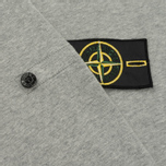 Мужская толстовка Stone Island Crew Garment Dyed Cotton Grey фото- 5