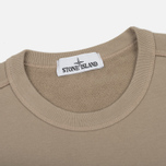 Мужская толстовка Stone Island Crew Neck Brushed Cotton Fleece Beige фото- 1