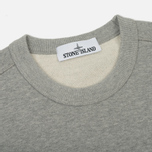 Мужская толстовка Stone Island Crew Neck Brushed Cotton Fleece Light Grey фото- 1